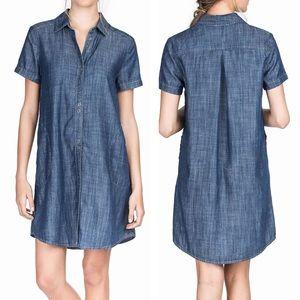 Lilla P Chambray Denim Jean Dress AMB035 Medium